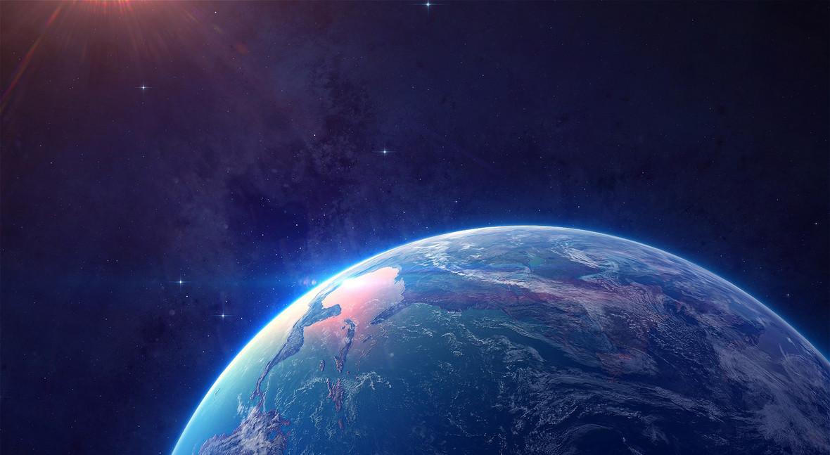 背景图库 海报banner > 地球表面大图背景素材图片下载桌面壁纸  下载
