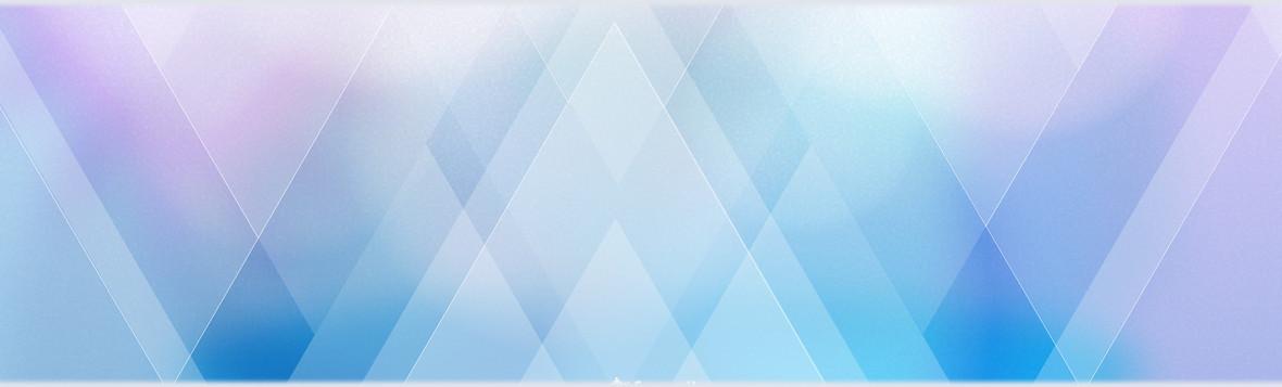 简约蓝色大气质感几何海报背景