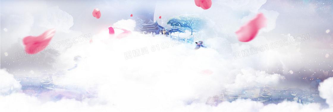 七夕淘宝banner创意设计