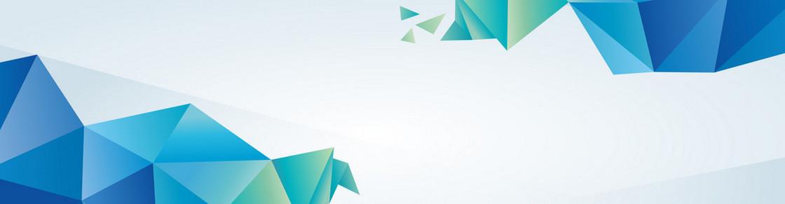 蓝色科技企业公司时尚大气抽象背景banner
