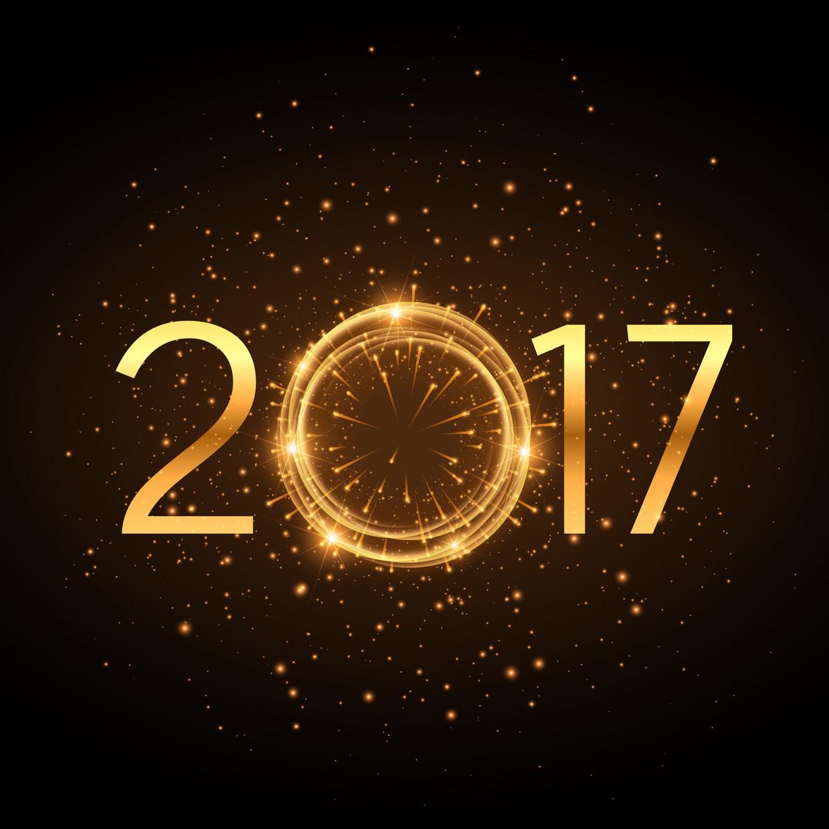 2017新年倒计时狂欢背景素材