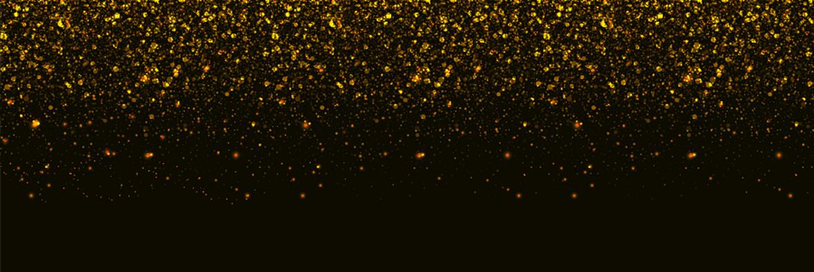 炫彩矢量金色亮片节日背景素材