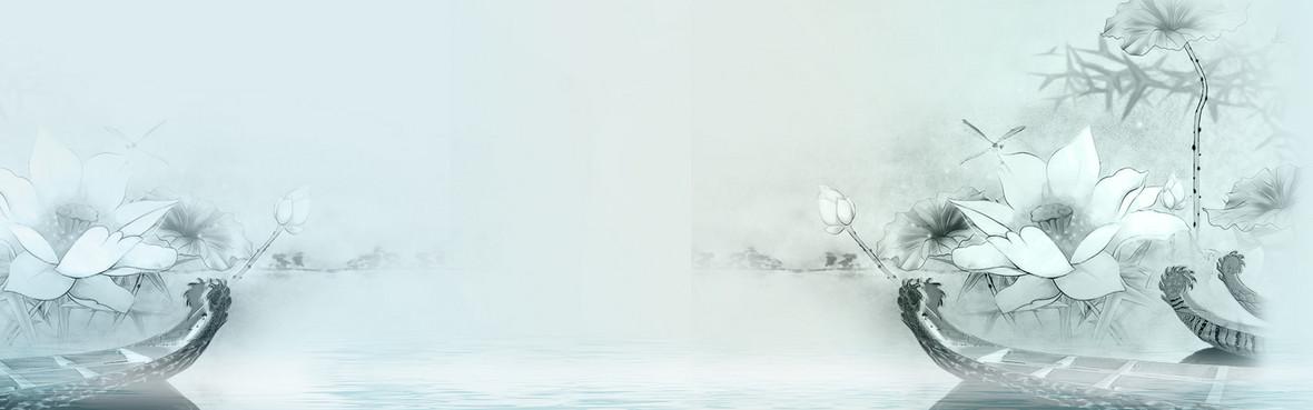 中國風簡約大氣淘寶海報背景