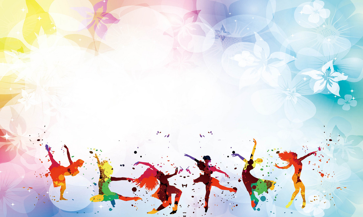 舞蹈培训招生海报背景素材