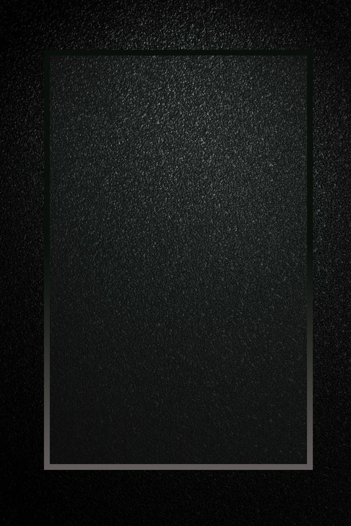 黑色简约边框磨砂肌理底纹背景素材