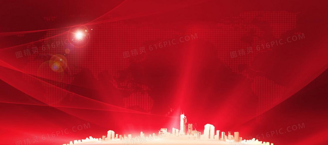 中国红背景图