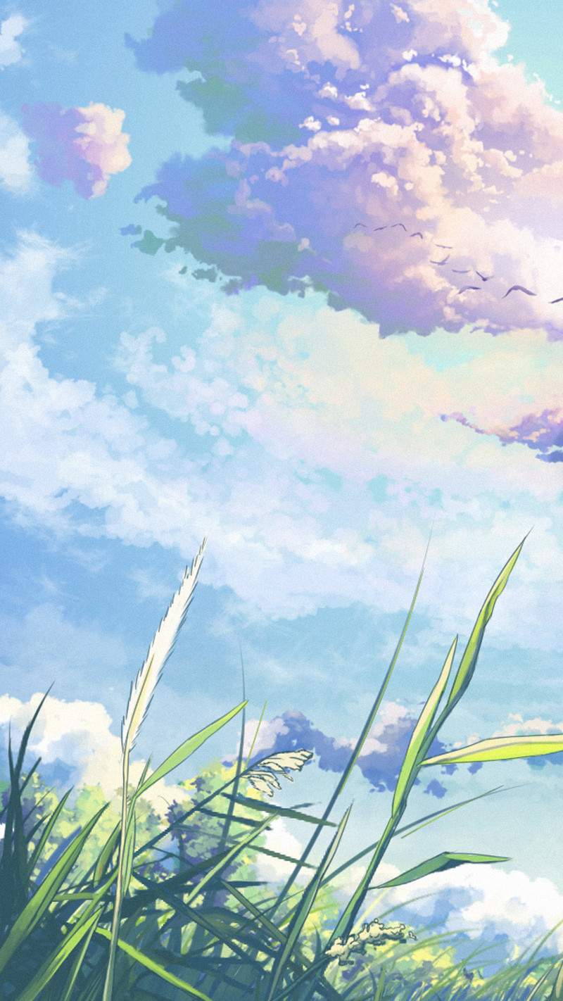 彩色水彩手绘h5背景