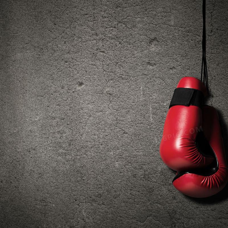 霸气墙壁拳击手套背景图