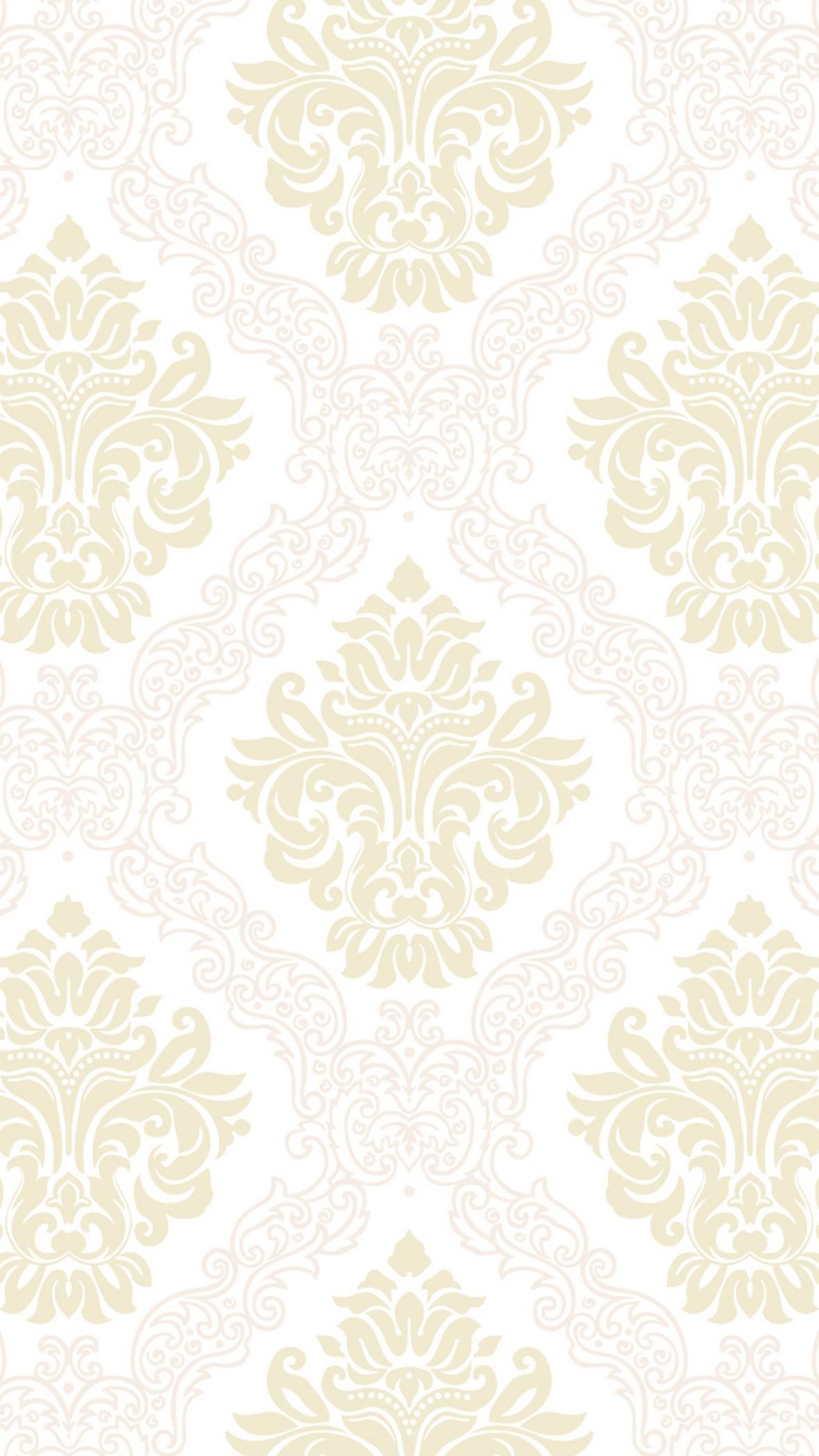 米色欧式复古花纹背景
