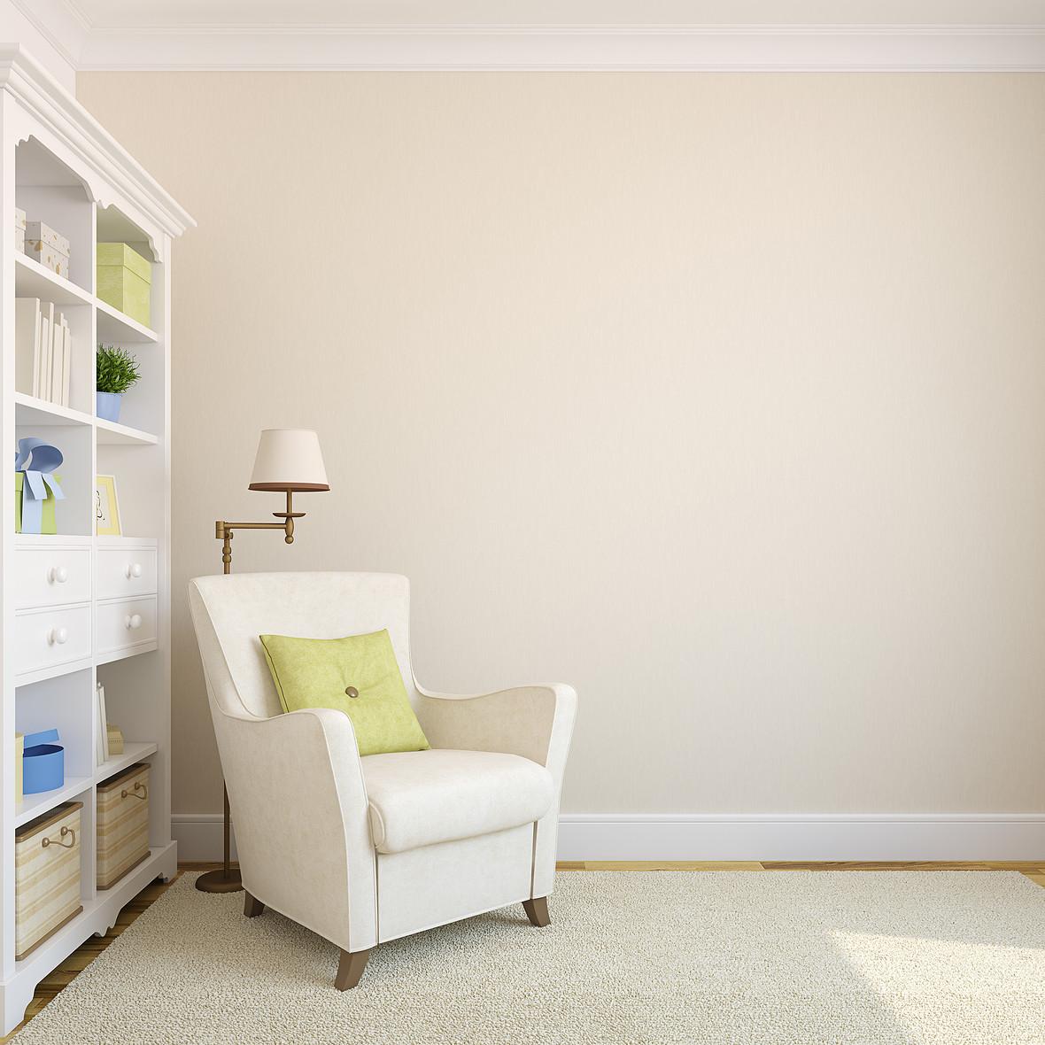 简约室内一角的沙发场景背景素材