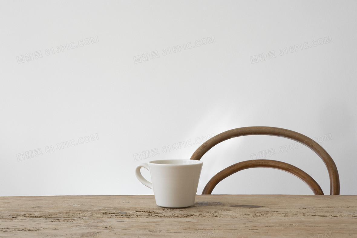 餐椅 餐桌海报背景素材