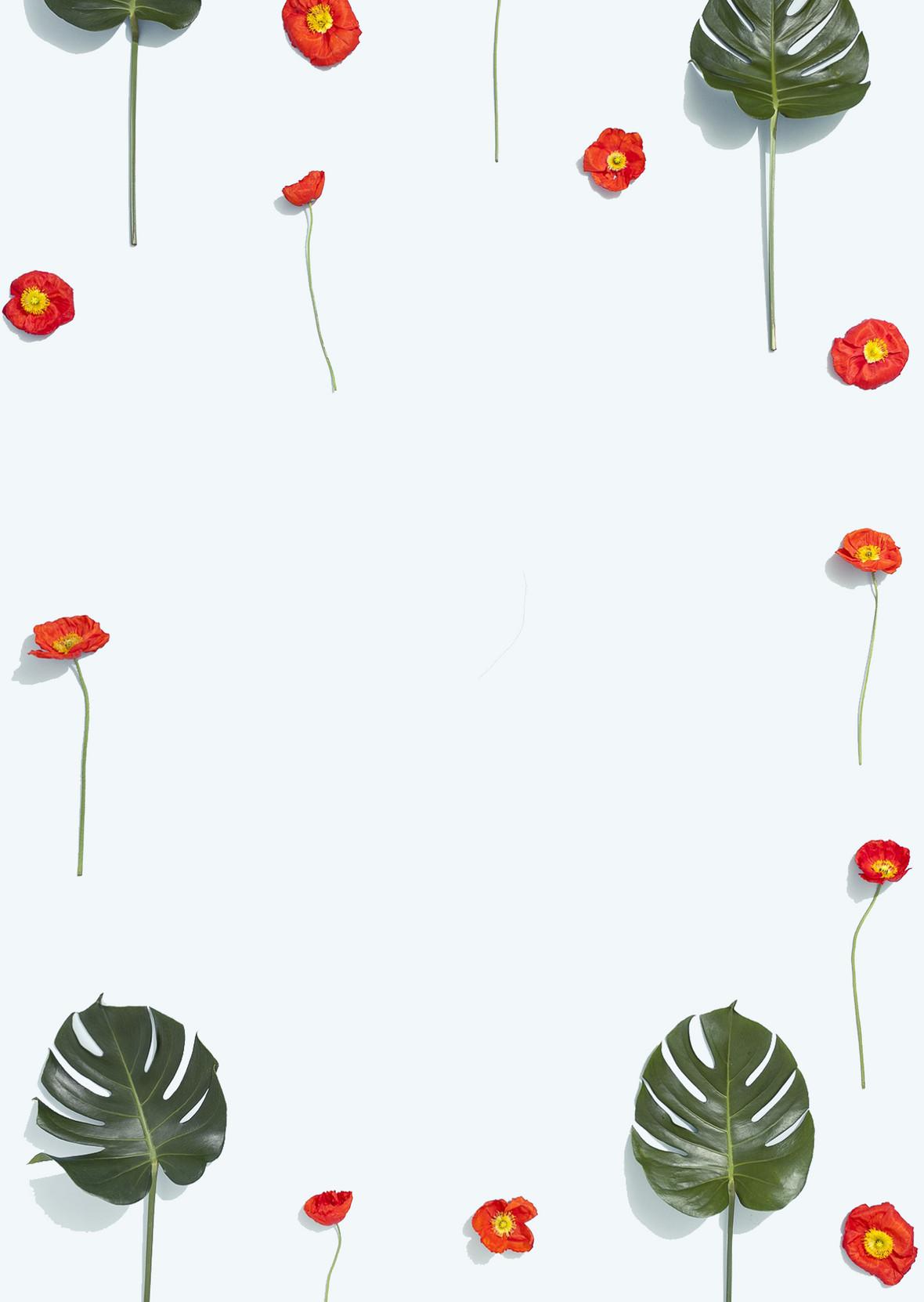 女生节小清新淘宝商业卡通海报展板背景素材