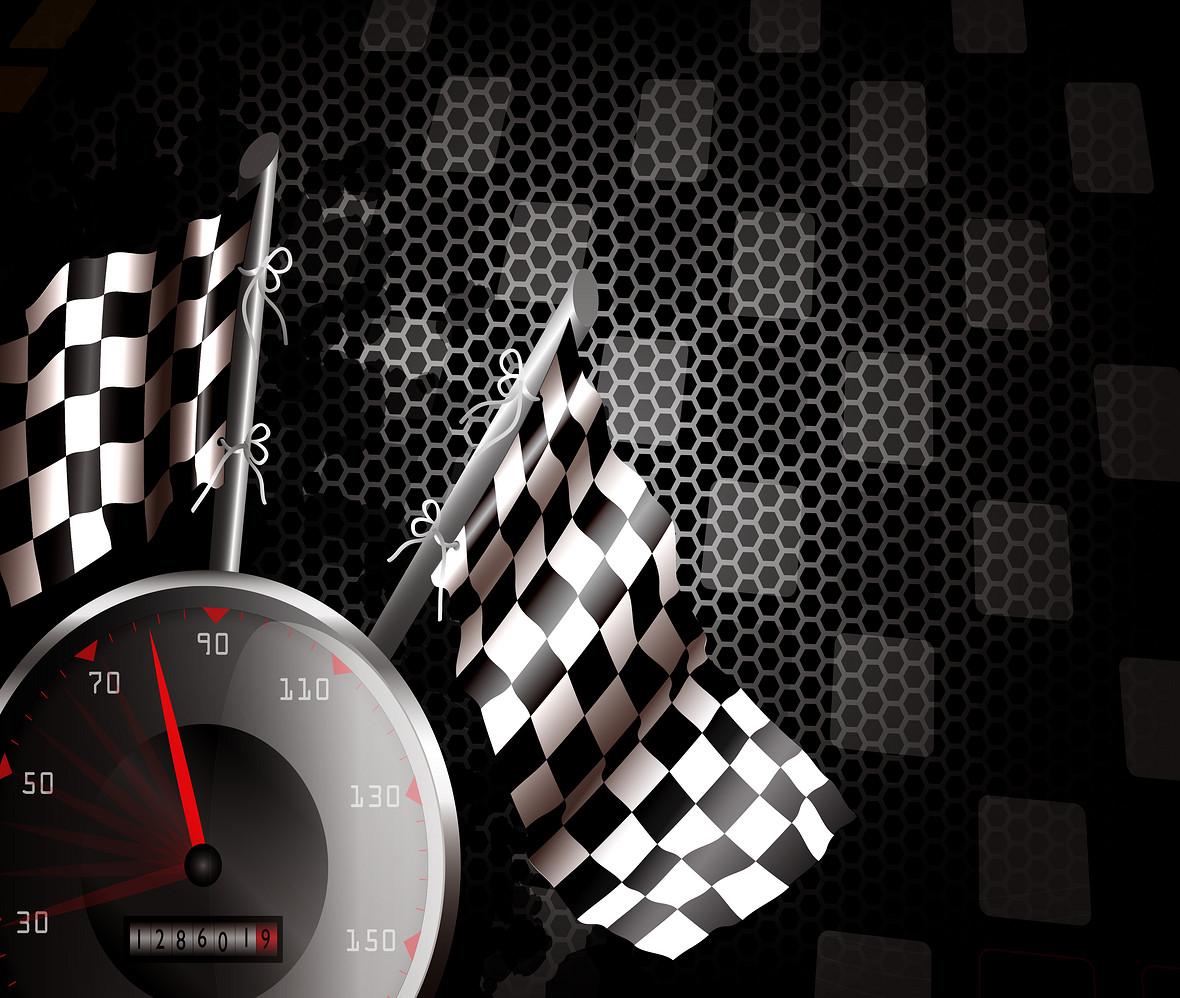 黑色炫酷赛车汽车行业背景矢量素材