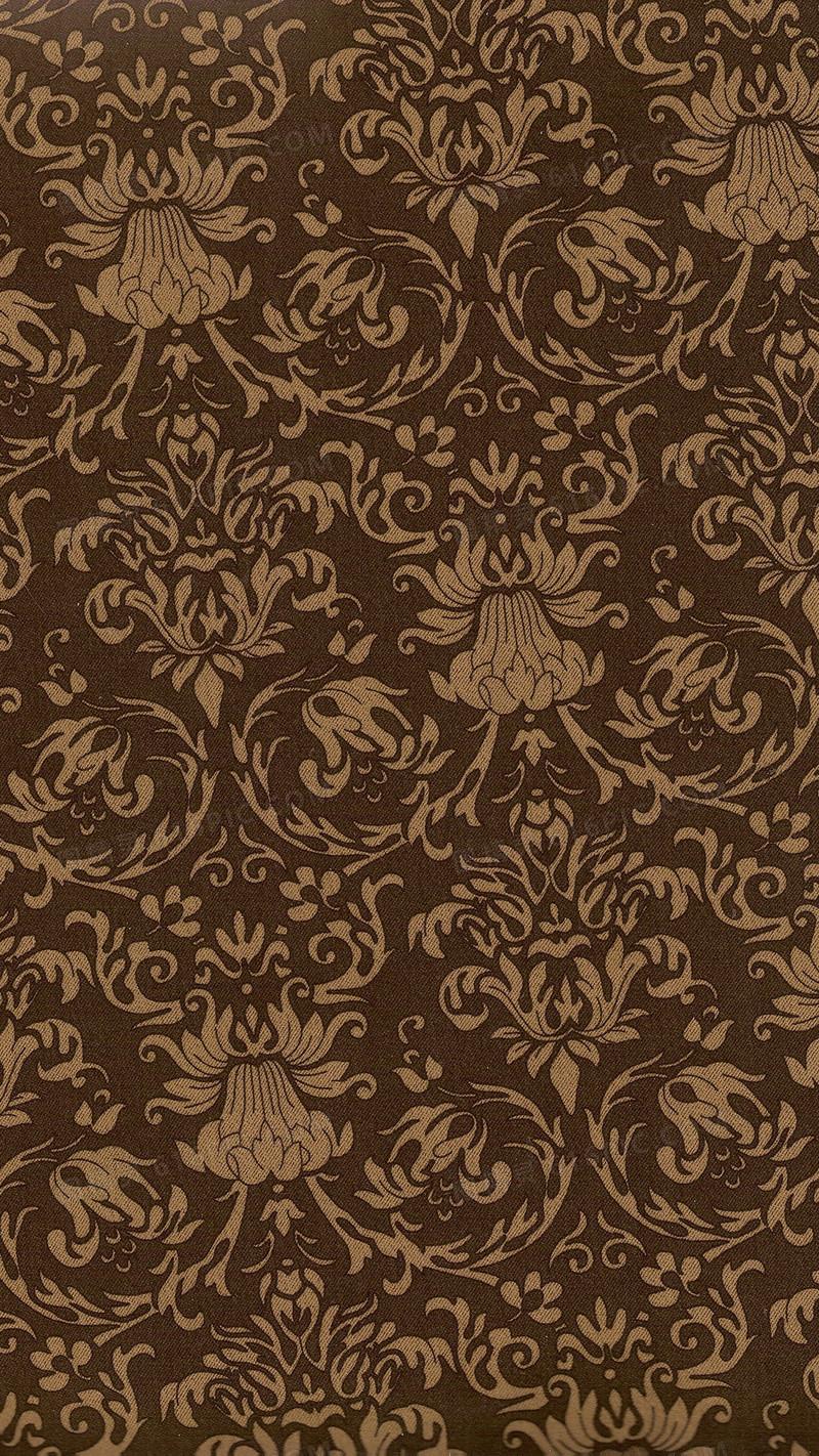 欧式花纹暗纹h5背景素材