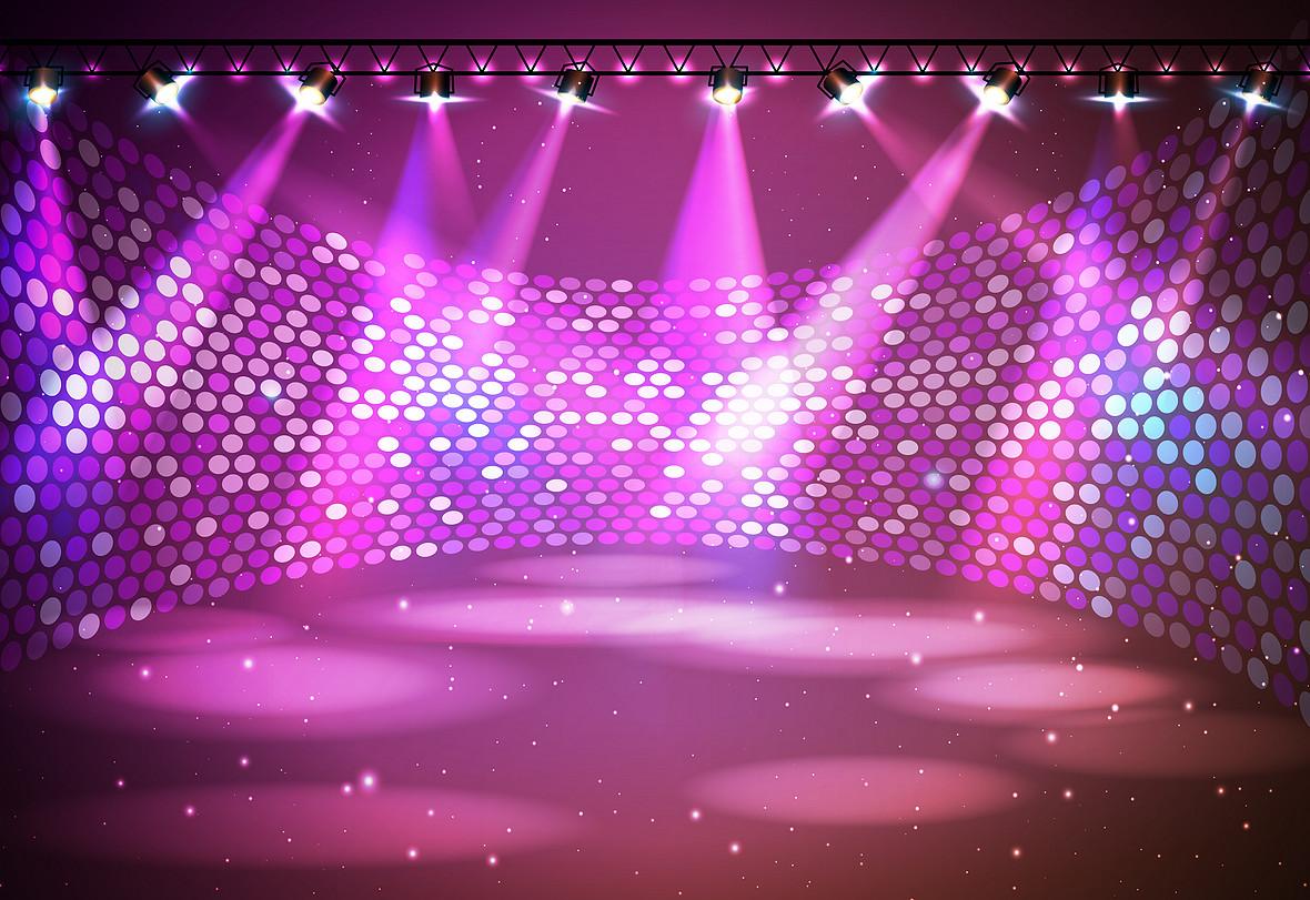 舞台炫彩灯光背景