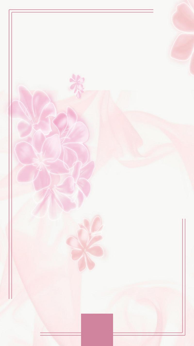 简约小清新化妆品美妆节h5背景素材