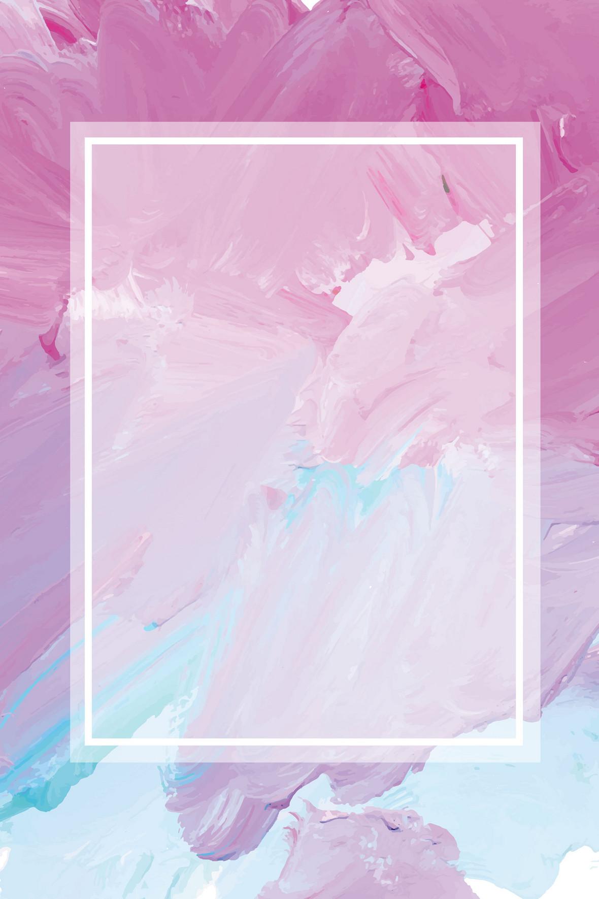 矢量油画颜料水彩颜料涂抹背景