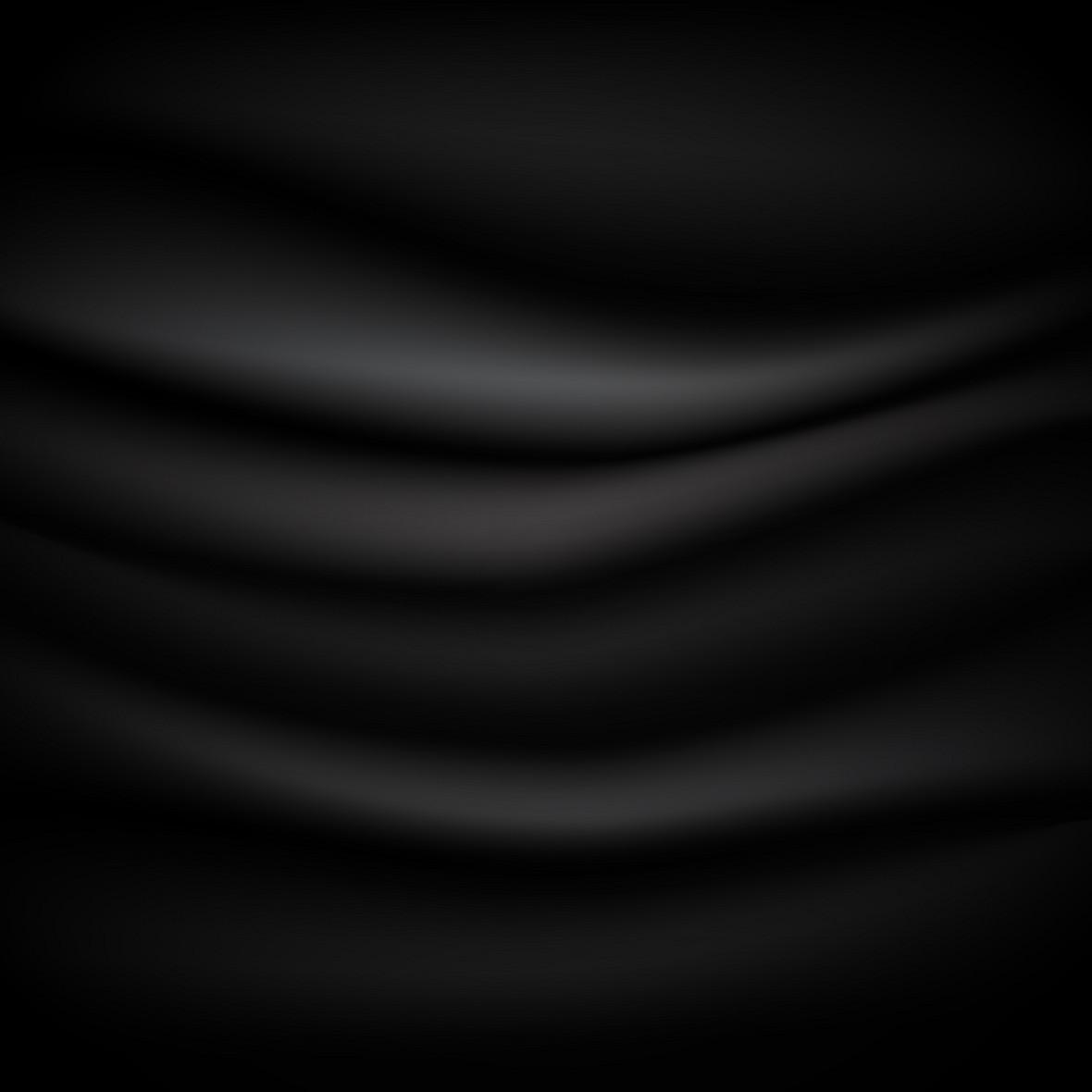 黑色渐变绸缎素材背景