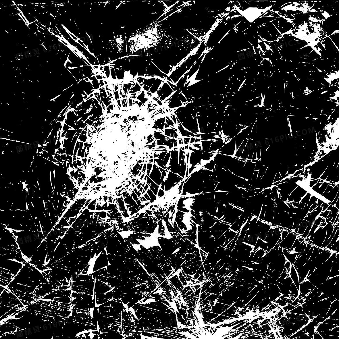 破玻璃碎素材背景