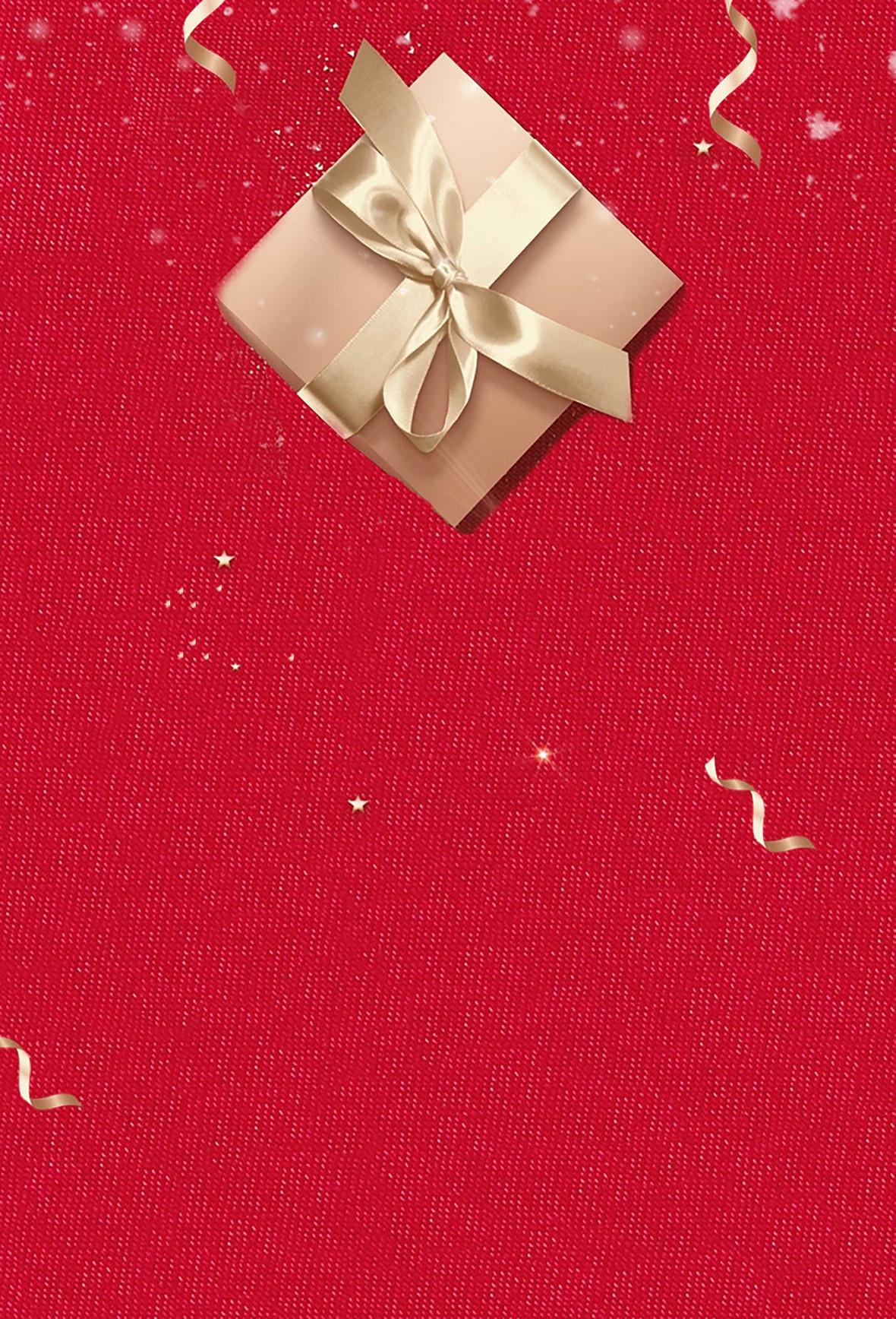 品红质感纹理简约创意礼物海报背景素材