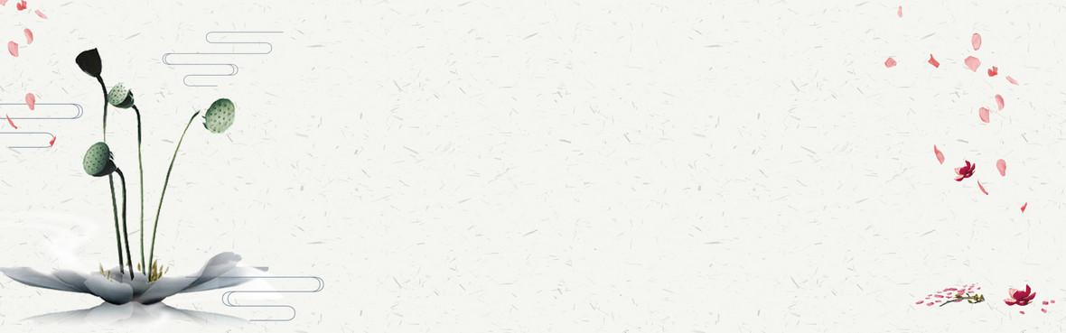 禅意文学古风背景背景图片下载_1920x700像素jpg格式