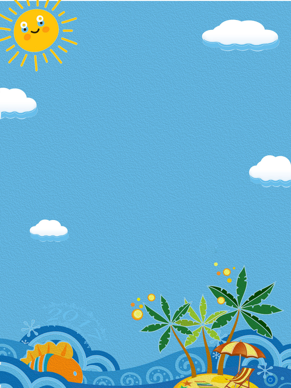 夏季觀影海報背景圖