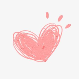 线稿爱心 爱心 装饰