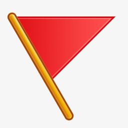 红色小旗图标图片免费下载 Png素材 编号z7ri3mp81 图精灵