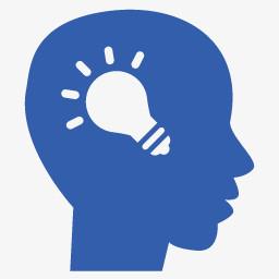 头脑风暴灯泡创意思想灯泡思想高等教育图标集图片免费下载 Png素材 编号13gij655z 图精灵