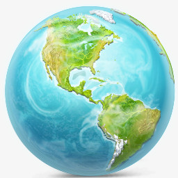地球图标图片免费下载 Png素材 编号vr7iqqkj1 图精灵