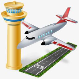 机场的图标图片免费下载 Png素材 编号z62i0gr81 图精灵