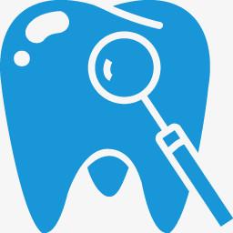 牙蓝色的医学的图标图片免费下载 Png素材 编号z2rijwd2m 图精灵