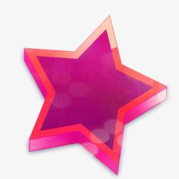 立体五角星图片免费下载 Png素材 编号vn2iggplx 图精灵