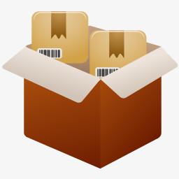 打包装箱图标图片免费下载 Png素材 编号z2rij9r06 图精灵