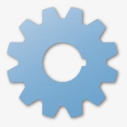 蓝色齿轮锡耶纳图片免费下载 Png素材 编号192ixqj4p 图精灵