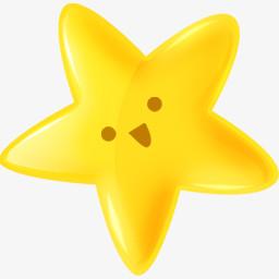黄色星星图片免费下载 Png素材 编号13gie3j3p 图精灵
