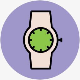 学校图案教育素材手表图标图片免费下载 Png素材 编号18midwd8j 图精灵