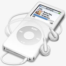 苹果ipod桌面图标下载图片免费下载 Png素材 编号14niqopne 图精灵