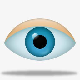 眼睛图标图片免费下载 Png素材 编号1xri05xlj 图精灵