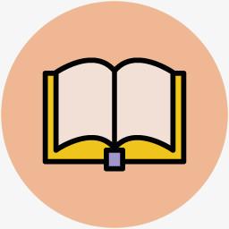 手绘学习图片图标素材打开的书本图片免费下载 Png素材 编号vj9iy226j 图精灵