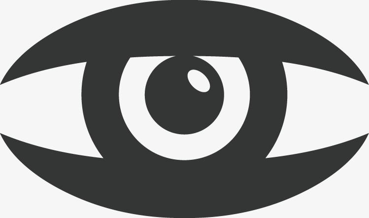 手绘卡通眼睛