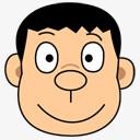 武哆啦a梦男孩Doraemon-icons