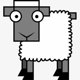 羊图标图片免费下载 Png素材 编号z2rijxkwn 图精灵