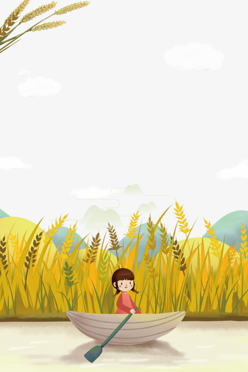 秋天的景色小清新主题边框图片免费下载_高清png素材