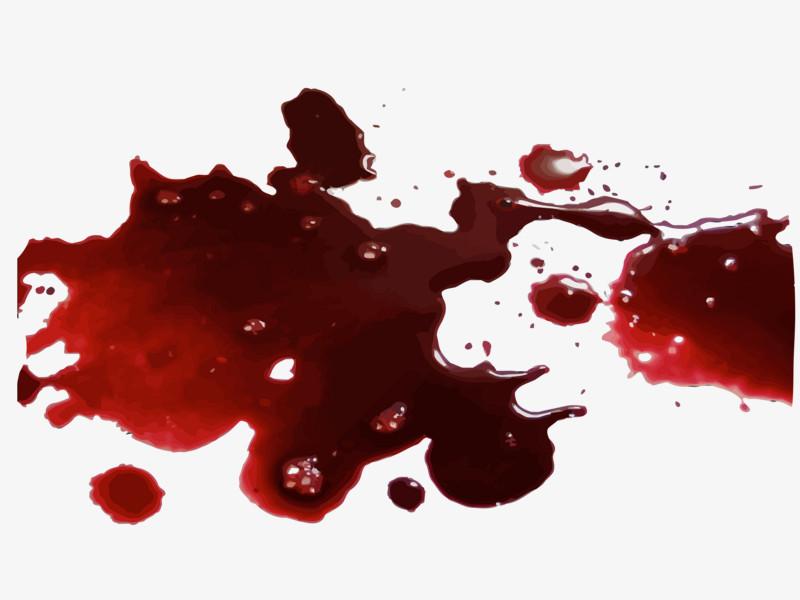 地上一滩红色血迹图片免费下载_高清png素材_图精灵