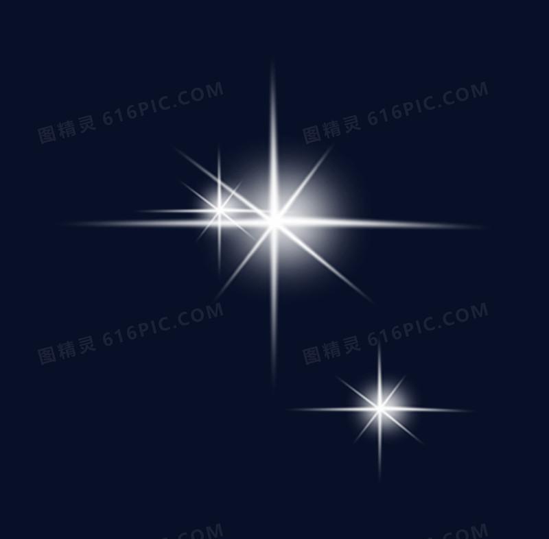 八角闪耀星星