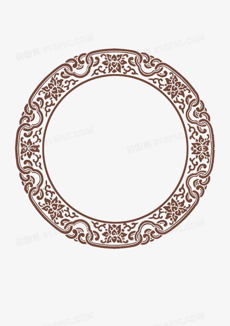 古典圆形边框图片免费下载_高清png素材_图精灵