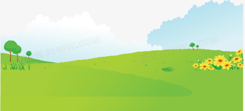春天清新草地草坪
