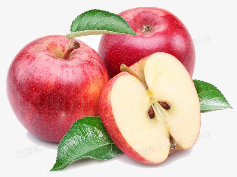 红苹果图片素材图片免费下载_高清png素材_图精灵