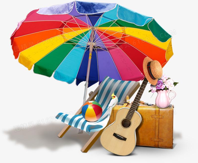 沙滩工具,素材,夏天,